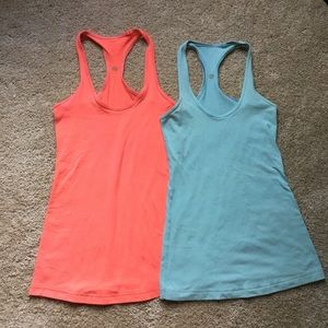 Bundle of TWO Lululemon Cool Racerback Tanks